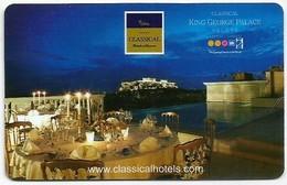 Griechenland / Greece Hotelkarte Keycard Aus Athen - Hotel Keycards