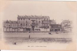 CPA - 295. LUC - L'hôtel Belle Plage - Luc Sur Mer