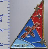 399-3 Space Soviet Russian Pin. Satellite Meteor - Space