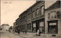1 Oude Postkaart Lint  Linth    DORP  1921  Winkels - Lint