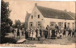 1 Oude Postkaart Lint  Linth   Zicht In De Kinderstraat   Uitgever  Massart - Lint