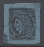 ARGENTINA 1856 1r  BLUE Nº 1 - Corrientes (1856-1880)