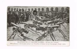 Trophées De La Grande Guerre.Musée.Mitrailleuses Prises Aux Allemands.Expédié En Franchise Militaire à Le Havre. - Weltkrieg 1914-18