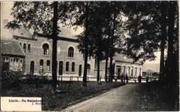1 Oude Postkaart Lint  Linth   De Smishoek  1908  Uitgever J.Sluys - Lint