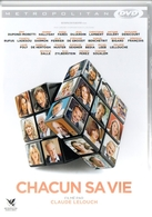 DVD Chacun Sa Vie  - Lelouch - Halliday - Comedy