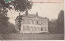 18 / 8 / 100. -  ST.  POL  ( 62 )  LE. CHÂTEAU  DE  ROËLLECOURT - Saint Pol Sur Ternoise