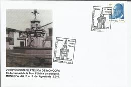 España. 2010. V Exposición Filatélica De Moncofa. - Marcofilia - EMA ( Maquina De Huellas A Franquear)