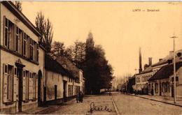 1 Oude Postkaart Lint  Linth    Dorpstraat   Uitgever Van Den Eynde - Lint