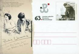 POLAND 2007 63RD ANNIV WW2 WARSAW GHETTO UPRISING AGAINST NAZI GERMANY GERMAN OCCUPATION World War II Judica Jew CP 1437 - Seconda Guerra Mondiale