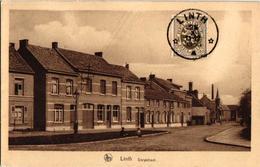 1 Oude Postkaart Lint  Linth    Dorpstraat   Uitgever Van Den Eynde   1933  Sterstempel - Lint