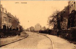 1 Oude Postkaart Lint  Linth   Statiestraat  Uitgever  Van Den Eynde   Invalidewagen - Lint