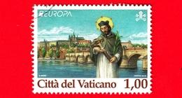 VATICANO - Usato - 2018 - Europa - S.Giovanni Nepomuceno E Ponte Carlo, A Praga - 1.00 - Vaticano