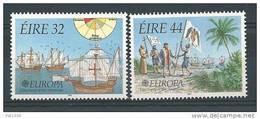 Irlande 1992 N°795/796  Neufs ** Europa Bateaux - 1949-... Republic Of Ireland