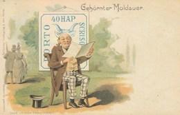 GEHORNTER MOLDAUER -L ENCORNE MOLDAVE - Timbres (représentations)