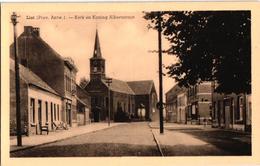 1 Oude Postkaart Lint  Linth  Kerk Koning Albertstraat  Uitgever  Van Den Eynde - Lint