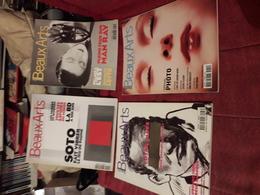 Lot De 8 Magazines Beaux Arts  185-212-hs 137-168-155-152-210-187 - Books, Magazines, Comics