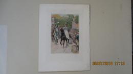 LOT 2 GRAVURES De LALAUZE Alph. 1908 ET 1910 - Prints & Engravings