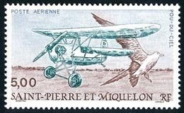 ST-PIERRE ET MIQUELON 1990 - Yv. PA 69 ** MNH  Faciale= 0,76 EUR - Avion Pou-du-ciel Et Oiseau De Mer  ..Réf.SPM11471 - Airmail