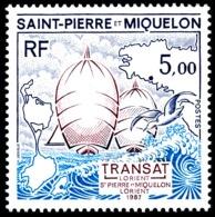 ST-PIERRE ET MIQUELON 1987 - Yv. 477 **   Faciale= 0,76 EUR - Course Nautique Transat Lorient-SPM  ..Réf.SPM11353 - Nuovi