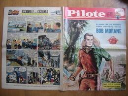 1962 PILOTE 123 Pilotorama Les Normands à Paris BOB MORANE BD - Pilote