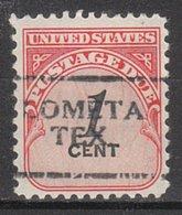 USA Precancel Vorausentwertung Preo, Locals Texas, Lometa 701 - Vereinigte Staaten