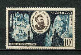 MONACO 1955 N° 433 ** Neuf MNH Superbe Cote 2.50 € Jules Verne Voyage Au Centre De La Terre - Monaco