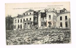Ruines Du Château De Carlepont.Expédié De Charleroi à Falisolle (Belgique) - Frankrijk