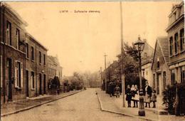 1 Oude Postkaart Lint  Linth    Duffelsesteenweg  Duffelsche Steenweg  Uitgever  Van Den Eynde - Lint