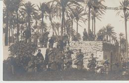 417-Tripoli-Libia-Africa-ex Colonie Italiane-Militaria-Guerra Italo-Turca-Esercizio Militarei - Libya