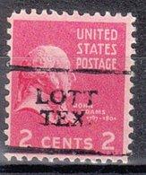 USA Precancel Vorausentwertung Preo, Locals Texas, Lott 701 - Vereinigte Staaten