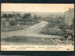 CPA - 1914-15... Ruines De SOMMEILLES, 5 Février 1915 - Guerre 1914-18