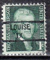 USA Precancel Vorausentwertung Preo, Locals Texas, Louise 841 - Vereinigte Staaten
