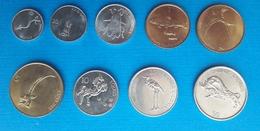 SLOVENIA Set Coins  10,20,50 Stotinov 1,2,5,10,20,50 Tolarjev - Slovénie