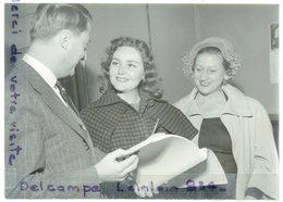 - Photo De Presse - Original - Dominique BLANCHAR, Film Américain, Edouard LEGGEWIE, , 09-10-1950, TBE,scans. - Célébrités