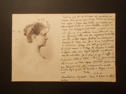 Carte Postale -  PAYS BAS - Pionnière 1898 - Timbres (2322) - Pays-Bas