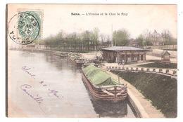 Péniches à Sens (89 - Yonne) L'Yonne Et Le Clos Le Roy - Chiatte, Barconi