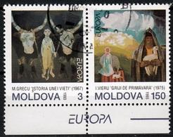 Moldavie Mi 94,95  Europa Cept 1993 Gestempeld Fine Used - 1993
