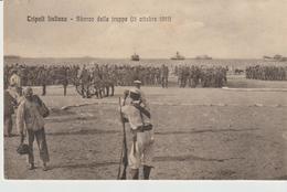 418-Tripoli-Libia-Africa-ex Colonie Italiane-Militaria-Guerra Italo-Turca-Sbarco Delle Truppe 11 Ottobre 1911-Animata. - Libia