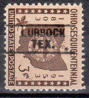 USA Precancel Vorausentwertung Preo, Locals Texas, Lubbock 745 - Stati Uniti