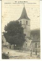 52 - POULANGY / FONTAINE ET PLACE DE L'EGLISE - L'ARBRE DE LA LIBERTE - Langres