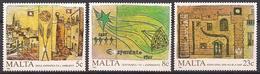Malta (1987)  Mi.Nr.  772 - 774  ** / Mnh  (8bc04) - Malta
