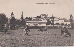 Charente  :  MONTMOREAU  Vue , Vache - Altri Comuni