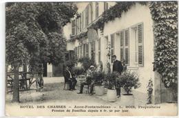 1 Cpa Avon - Hôtel Des Chasses - Avon
