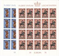 Liechtenstein, Kleinbogen Nr. 600/01** (K 3354) - Bloques & Hojas