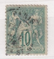 FRANCE  YT N°  65 SAGE TYPE 1 - 1876-1878 Sage (Type I)