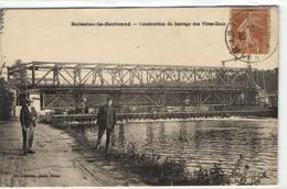 1 Cpa Boissise La Bertrand - Construction Du Barrage Des Vives Eaux - France