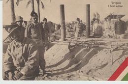 421-Tripoli-Libia-Africa-ex Colonie Italiane-Militaria-Guerra Italo-Turca-I Forni Militari - Libya