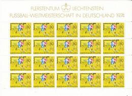 Liechtenstein, Kleinbogen Nr. 606** (K 3355) - Blocs & Feuillets