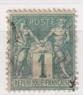 FRANCE  SAGE TYPE I  YT N° 61 - 1876-1878 Sage (Type I)