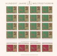 Liechtenstein, Kleinbogen Nr. 607/08** (K 3356) - Blocs & Feuillets